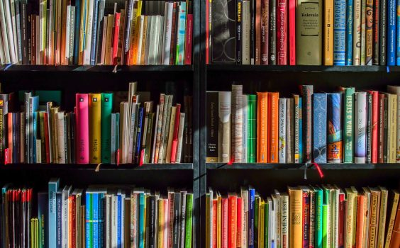 Zaproszenie na niedzielne odwiedziny biblioteki.
