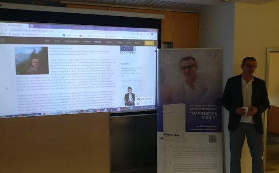Spotkanie autorskie z Ireneuszem Gralikiem – inspiratorem rozwoju osobistego – 11.10.2018 r.