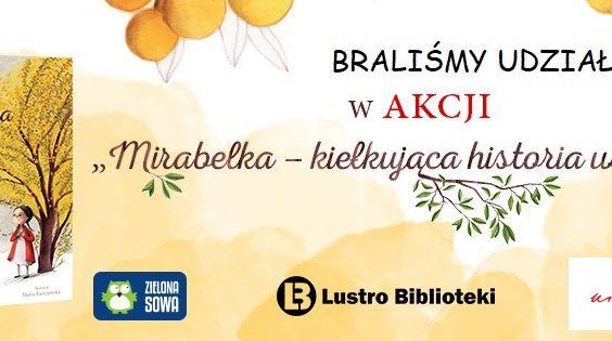 Lekcje biblioteczne z Mirabelką w tle.