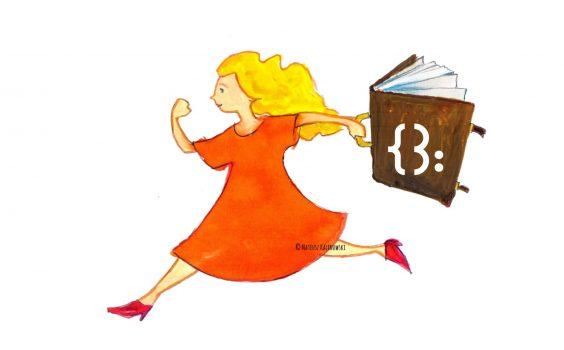 Bibliotekarka z bajkową walizką online.