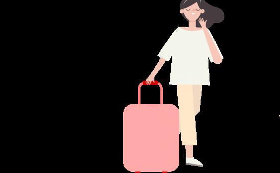 Bibliotekarka z bajkową walizką – nietuzinkowa akcja biblioteczna.