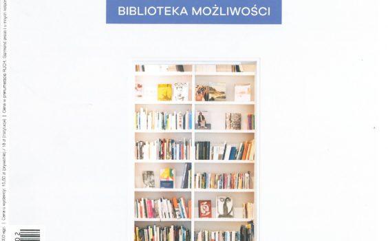 Bibliosłówka, Pani Kropeczka oraz robótki zręczne ; Biblioteka Publiczna 02/2019 ; s. 13-14