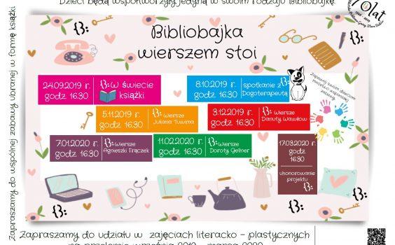Bibliobajka – nowa akcja czytelnicza!
