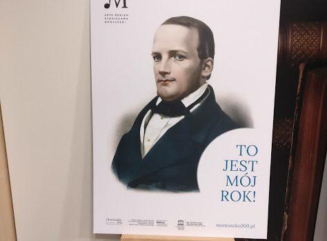 Wystawa planszowa o życiu i twórczości Stanisława Moniuszki.