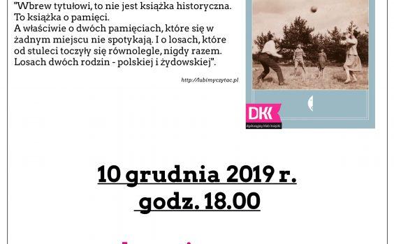 12. spotkanie Dyskusyjnego Klubu Książki.
