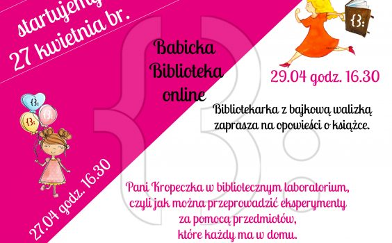 BABICKA BIBLIOTEKA ONLINE!