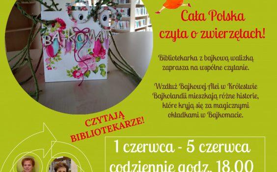 XIX Ogólnopolska, zaś III Babicka edycja Tygodnia Czytania Dzieciom!