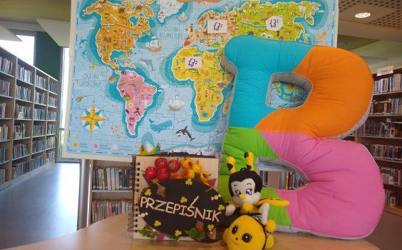 Podróż po krainie książek z bajką na deser, zajęcia o pszczołach, czyli poznajmy świat pszczół.