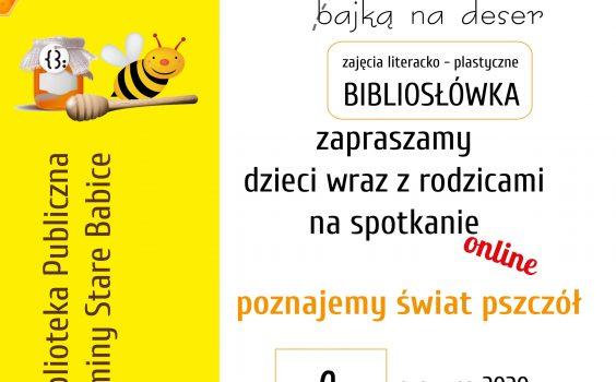 Zajęcia o pszczołach, czyli poznajmy świat pszczół.
