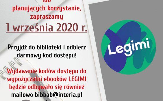 Nowe kody LEGIMI!