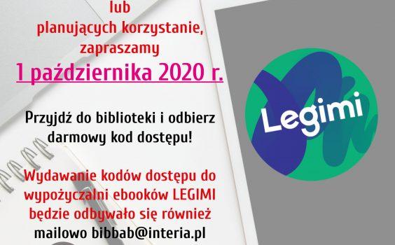 Październikowe kody Legimi.
