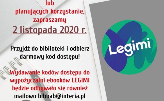 Nowe kody do Legimi!