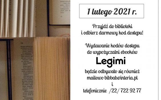 Nowe kody Legimi.